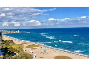 Property for sale at 1012 N Ocean Blvd Unit: 1607, Pompano Beach,  Florida 33062