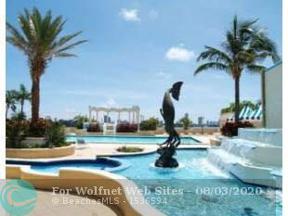 Property for sale at 7601 E Treasure Dr Unit: 1020, North Bay Village,  Florida 33141