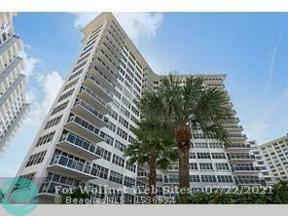 Property for sale at 3700 Galt Ocean Dr Unit: 315, Fort Lauderdale,  Florida 33308