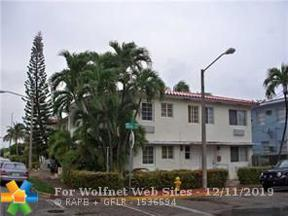 Property for sale at 503 75th St Unit: 501, Miami Beach,  Florida 33141