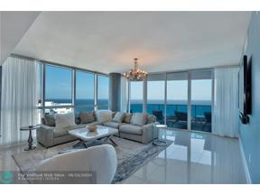 Property for sale at 1600 S Ocean Blvd Unit: 1704, Pompano Beach,  Florida 33062