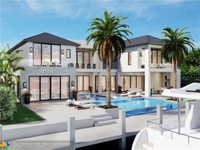Property for sale at 2481 Del Lago Dr, Fort Lauderdale,  Florida 33316