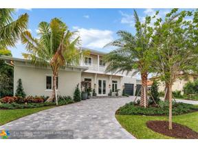 Property for sale at 1600 E Lake Dr, Fort Lauderdale,  Florida 33316