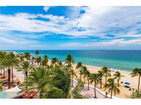 Property for sale at 101 S Fort Lauderdale Beach Blvd Unit: 508, Fort Lauderdale,  Florida 33316