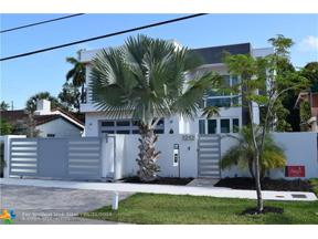 Property for sale at 1212 NE 4th St, Fort Lauderdale,  Florida 33301