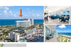 Property for sale at 1 N Ocean Blvd Unit: PH03, Pompano Beach,  Florida 33062