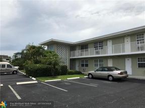 Property for sale at 1105 S Riverside Dr Unit: 109, Pompano Beach,  Florida 33062