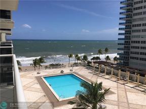 Property for sale at 3500 Galt Ocean Dr Unit: 504, Fort Lauderdale,  Florida 33308
