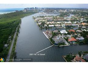 Property for sale at 2801 NE 16th St, Fort Lauderdale,  Florida 33304