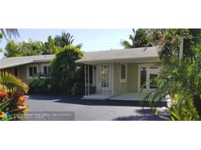 Property for sale at 500 NE 28th Dr, Wilton Manors,  Florida 33334