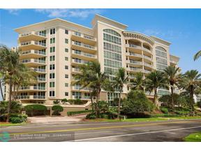 Property for sale at 1063 Hillsboro Mile Unit: 507, Hillsboro Beach,  Florida 33062