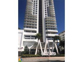 Property for sale at 6365 Collins Ave Unit: 2707, Miami,  Florida 33141