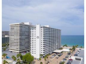 Property for sale at 4010 Galt Ocean Dr Unit: 814, Fort Lauderdale,  Florida 33308