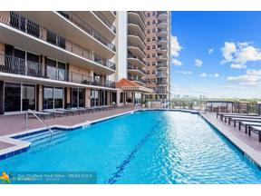 Property for sale at 100 S Birch Rd Unit: 2404E, Fort Lauderdale,  Florida 33316