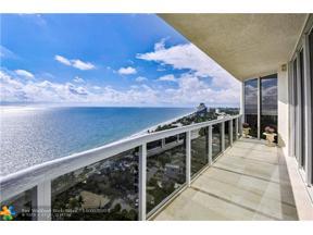 Property for sale at 3100 N Ocean Blvd Unit: 2309, Fort Lauderdale,  Florida 33308