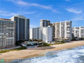 Property for sale at 4250 Galt Ocean Dr Unit: 6C, Fort Lauderdale,  Florida 33308