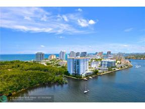Property for sale at 777 Bayshore Dr Unit: 1405, Fort Lauderdale,  Florida 33304