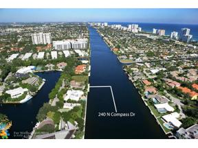 Property for sale at 240 N Compass Dr, Fort Lauderdale,  Florida 33308