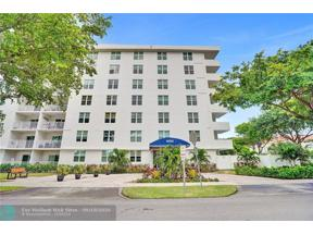 Property for sale at 6000 NE 22nd Way Unit: 5C, Fort Lauderdale,  Florida 33308