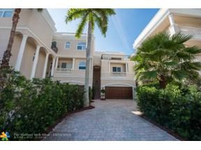 Property for sale at 1768 Bay Dr Unit: 1768, Pompano Beach,  Florida 33062