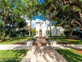 Property for sale at 1320 Ponce De Leon Dr, Fort Lauderdale,  Florida 33316
