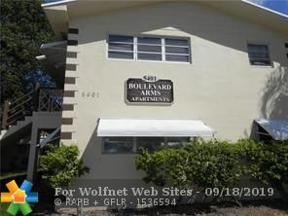 Property for sale at 5401 Hollywood Blvd Unit: 7, Hollywood,  Florida 33021