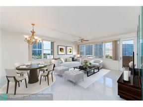 Property for sale at 3300 NE 36th St Unit: 616, Fort Lauderdale,  Florida 33308