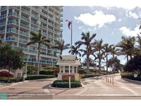 Property for sale at 2100 S Ocean Ln Unit: 2105, Fort Lauderdale,  Florida 33316