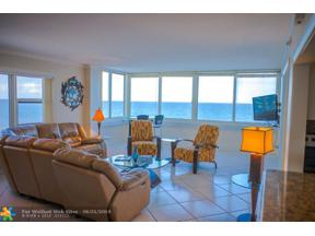 Property for sale at 4040 Galt Ocean Dr Unit: 718, Fort Lauderdale,  Florida 33308
