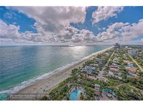Property for sale at 3200 N Ocean Blvd Unit: PH2708, Fort Lauderdale,  Florida 33308