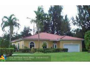 Property for sale at 2691 SW 122nd Ter, Davie,  Florida 33330