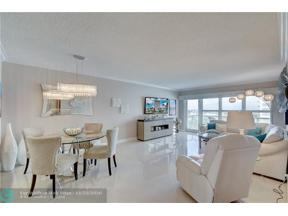 Property for sale at 3550 Galt Ocean Dr Unit: 709, Fort Lauderdale,  Florida 33308