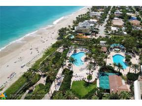 Property for sale at 3200 N Ocean Blvd Unit: 1804, Fort Lauderdale,  Florida 33308