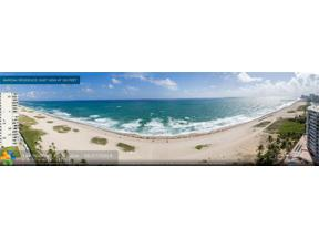Property for sale at 730 N Ocean Blvd Unit: 1102, Pompano Beach,  Florida 33062