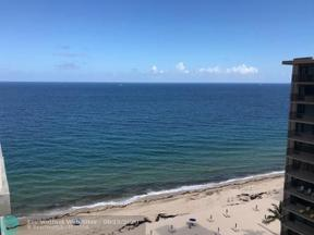 Property for sale at 3850 Galt Ocean Dr Unit: 1603, Fort Lauderdale,  Florida 33308