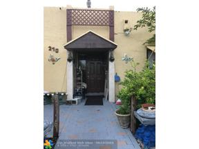 Property for sale at 210 NW 43rd Ct Unit: 210, Pompano Beach,  Florida 33064