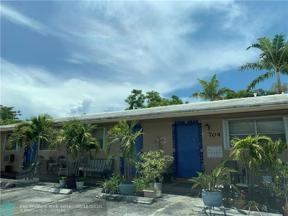 Property for sale at 704 NE 23rd Dr Unit: 3, Wilton Manors,  Florida 33305
