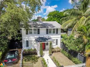 Property for sale at 1017 SW 4th Street, Fort Lauderdale,  Florida 33315