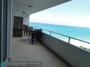 Property for sale at 4040 Galt Ocean Dr Unit: 710, Fort Lauderdale,  Florida 33308