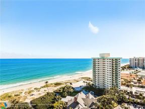 Property for sale at 2000 S Ocean Blvd Unit: 16 L, Lauderdale By The Sea,  Florida 33062