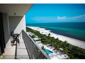 Property for sale at 2625 Collins Ave Unit: 1603, Miami Beach,  Florida 33140