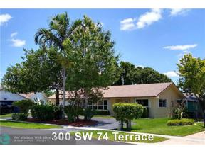 Property for sale at 300 SW 74th Ter, Plantation,  Florida 33317