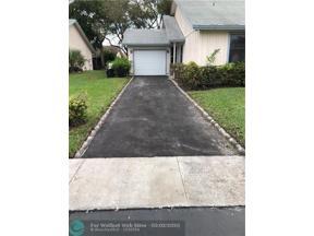 Property for sale at 6020 NW 78th Way Unit: 6020, Tamarac,  Florida 33321
