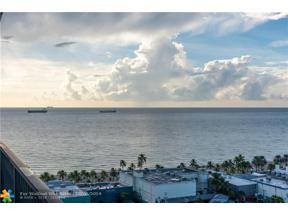 Property for sale at 100 S Birch Rd Unit: 1804E, Fort Lauderdale,  Florida 33316