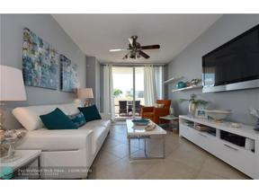 Property for sale at 3020 NE 32nd Ave Unit: 418, Fort Lauderdale,  Florida 33308