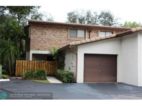 Property for sale at 12451 NW 3rd St Unit: B1, Plantation,  Florida 33325