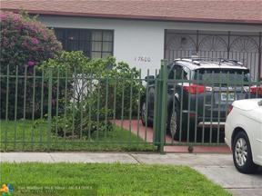 Property for sale at 17600 NW 52nd Ave, Miami Gardens,  Florida 33055