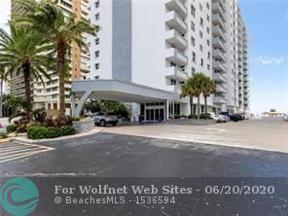 Property for sale at 4250 Galt Ocean Dr Unit: 8C, Fort Lauderdale,  Florida 33308