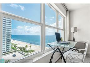 Property for sale at 3500 Galt Ocean Dr Unit: 816, Fort Lauderdale,  Florida 33308