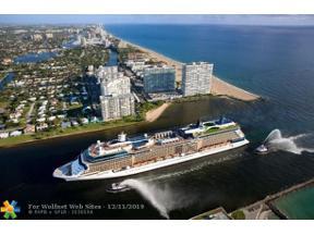 Property for sale at 2100 S Ocean Ln Unit: 607, Fort Lauderdale,  Florida 33316